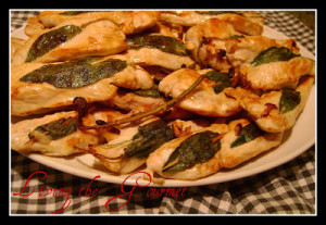 Seared Sage-Marinated Breast of Chicken