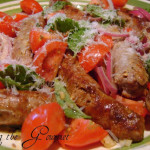 Sausage & Tomato Salad