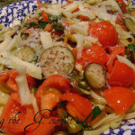 Fresh Garden Veggies with Pasta
