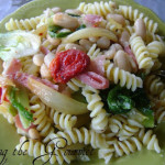 Escarole with Cannellini Beans and Macaroni