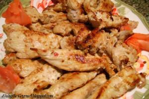 Wasabi Marinated Chicken Strips