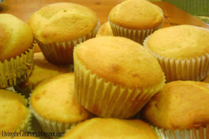 Simple Yellow Cupcakes