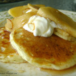 Pancakes & Sautéed Apple Breakfast