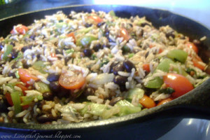 Quick & Easy ~ Black Beans & Rice!