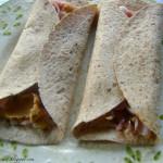 Hummus & Ham Tortilla