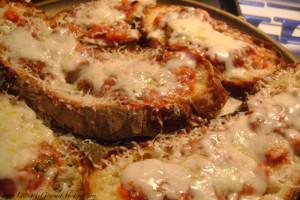 Italian Bread Pizza!!