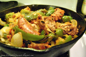 Quick & Easy Sausage & Peppers