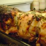 Chicken Breast with Stuffed Skin