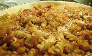Split Peas with Anchovies, Bacon and Macaroni!! Yeah!