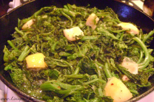 Broccoli Rabe with Lemon!