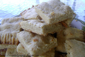 Almond Shortbread Cookies!!!