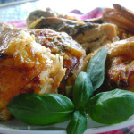 Stuffed ~Three Herb Roasted Chicken