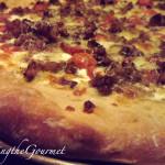 Fresh Garden Sauce Pizza with Sausage!!!