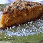 Yam & Sour Cream Pie!!!