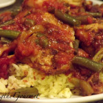 Chicken with Rice & Tomato Sauce!!