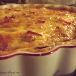 Eggstraordinary!!  Grilled Onion & Bacon Tart!!!