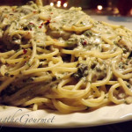 Creamy Spinach and Spaghetti!!!