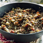 ~ Lentils with Vinegar and Honey ~