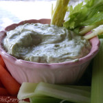~ Fresh Avocado and Sour Cream Dip ~