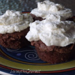 ~ Chocolate Sponge Cake Cupcakes ~