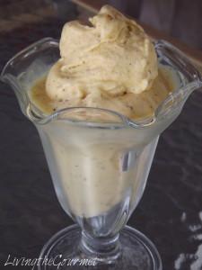 Peach Tea Ice Cream