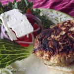 ~ Greek Style Pork Burgers ~