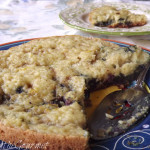~ Easy – Stove Top Sour Milk Blueberry Cake ~