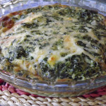 ~ No Crust! – Quick and Easy Spinach Quiche ~