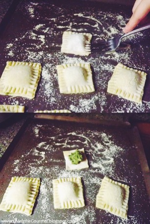 Living the Gourmet: Pesto Ravioli