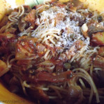 ~ Eggplant and Zucchini Sauce ~