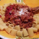 ~ Sunday Style -Tomato Sauce with Pork ~