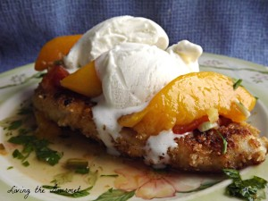 Sweet and Spicy Ice Cream Chicken Cutlets