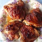 """BBQ"" Style Chicken Thighs"