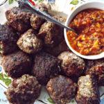 Fresh Salsa and Meatballs