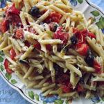 Warm Macaroni and Veggie Salad