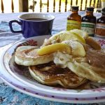 Vanilla Pancakes with Apples featuring Neilsen Massey Vanilla