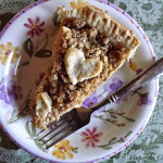 Crumb Topped Pear Pie