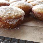 Jelly Doughnut Muffins