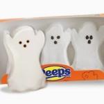 Chocolate Halloween Cupcakes featuring Peeps Marshmallows