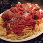 Simple Meatballs and Spaghetti
