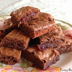 Strawberry & Chocolate Brownies