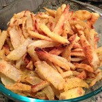 Crispy Baked Potato Fries