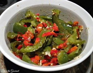 Baked Sweet and Spicy Peppers