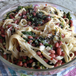 Broccoli Rabe with Beans and Fettuccini
