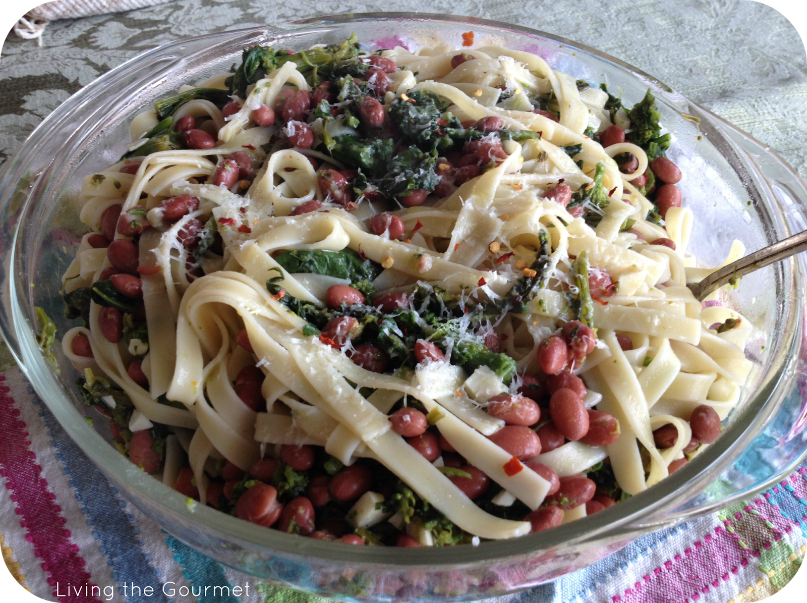 Broccoli Rabe with Beans and Fettuccini2