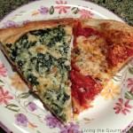 Creamy Spinach Pizza