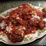 Greek Style Meatballs and Tomato Sauce