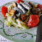Caesar Salad Featuring Wild Planet White Anchovies