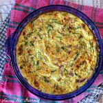 Lightened Up – Crustless Cottage Cheese Quiche