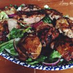 Ginger and Lime Chicken Thighs with Escarole Salad